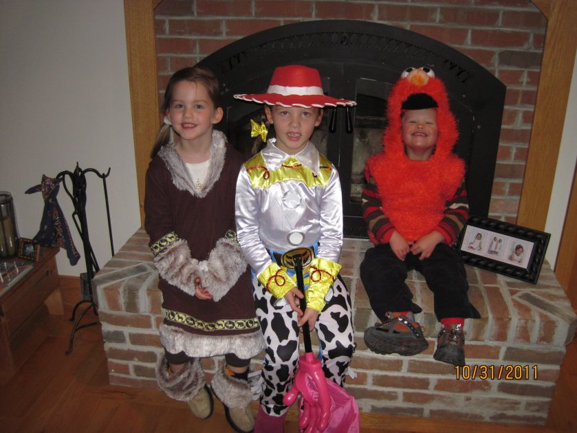 Halloween with sisters